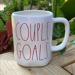 New Rae Dunn COUPLE GOALS Coffee Tea Mug